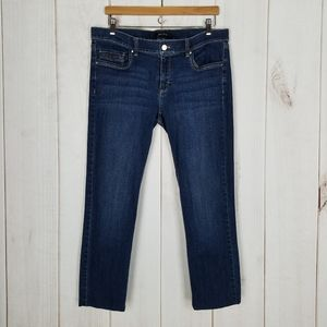 White House Black Market Mid-Rise Cropped Jeans 12